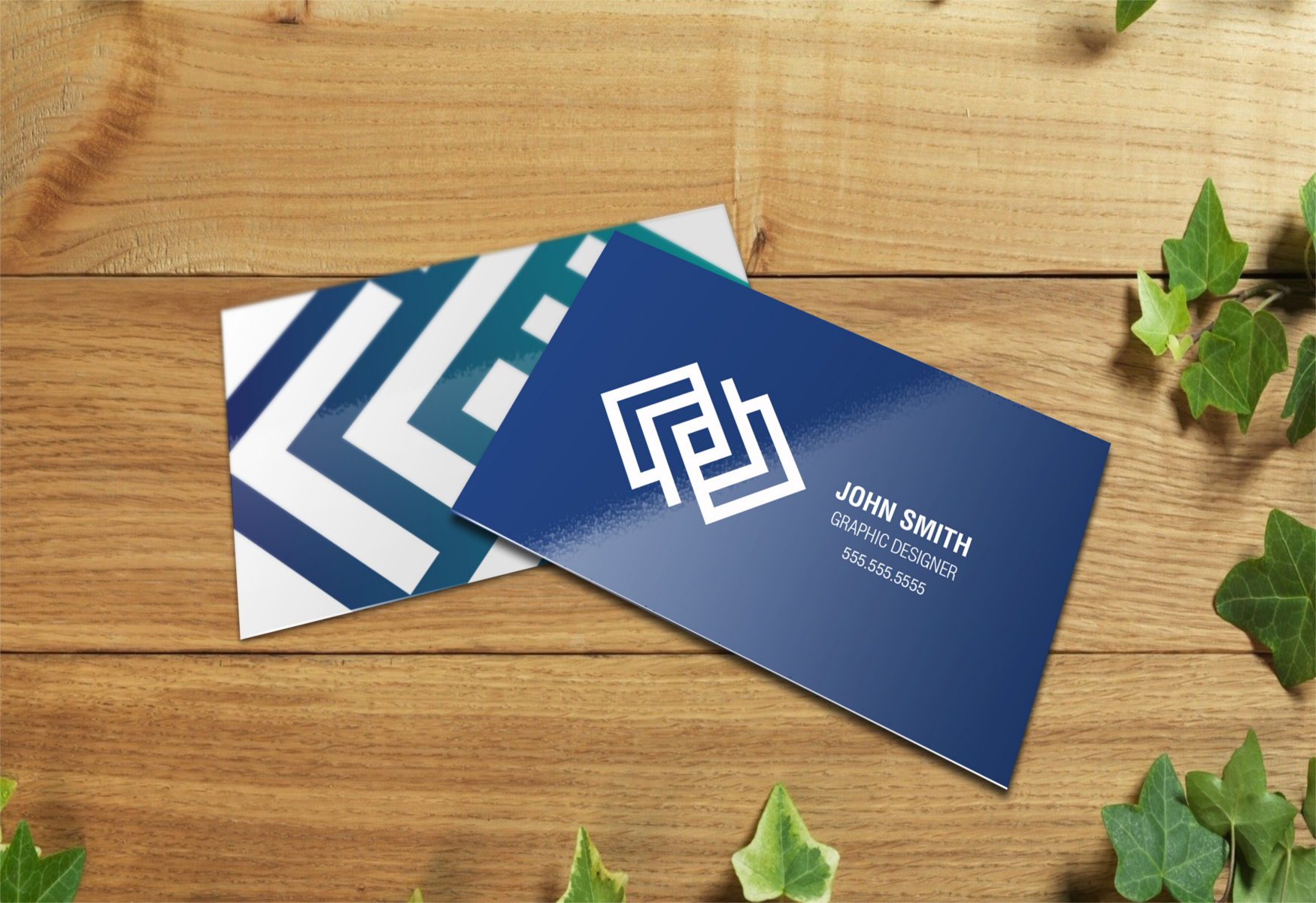 Glossy business cards Victoria BC